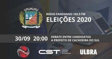 Eleições 2020: Candidatos à Prefeitura de Cachoeira se encontram nesta quarta, no  debate da Rádio Fandango FM