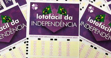 Começam as apostas da Lotofácil da Independência. Prêmio pode ser de R$ 150 milhões